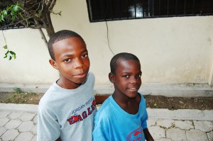 Haitian Boys at CWO's Feminine Training Center