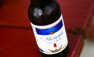 Michelob Ultra bottle