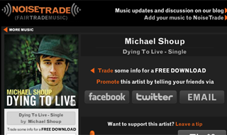 NoiseTrade Download Page