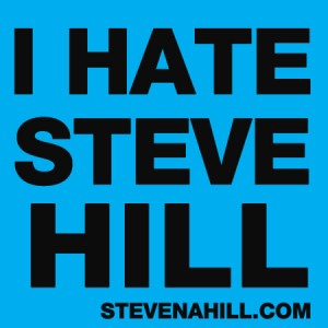 hate blue steve hill
