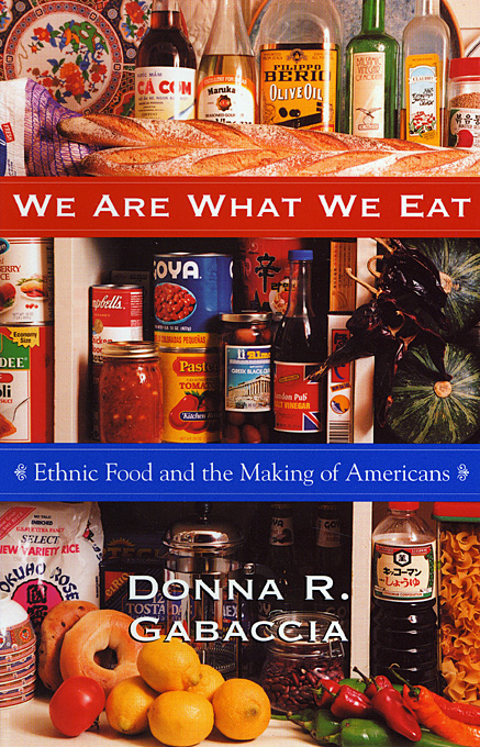 donna gabaccia we are what we eat book cover