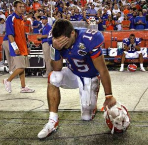 Tim Tebow Tebowing Prayer Florida