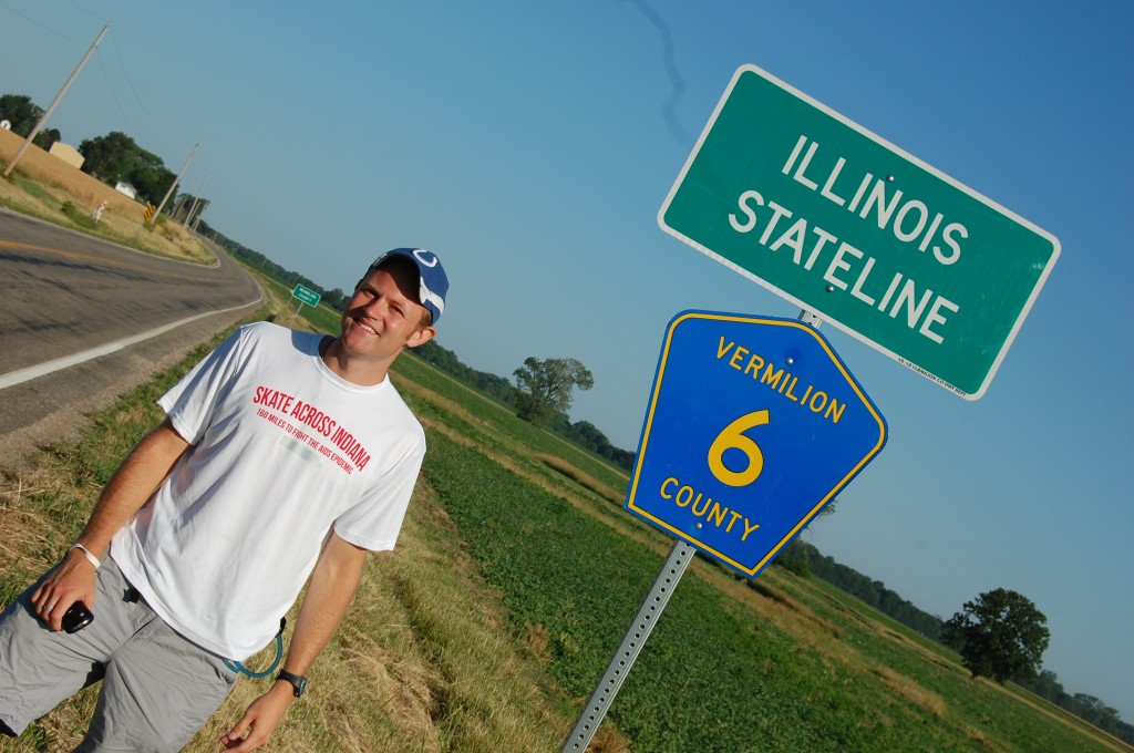 Illinois State Line on SR 32