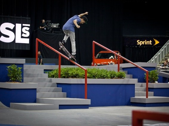 Nyjah Huston Street League Olympics