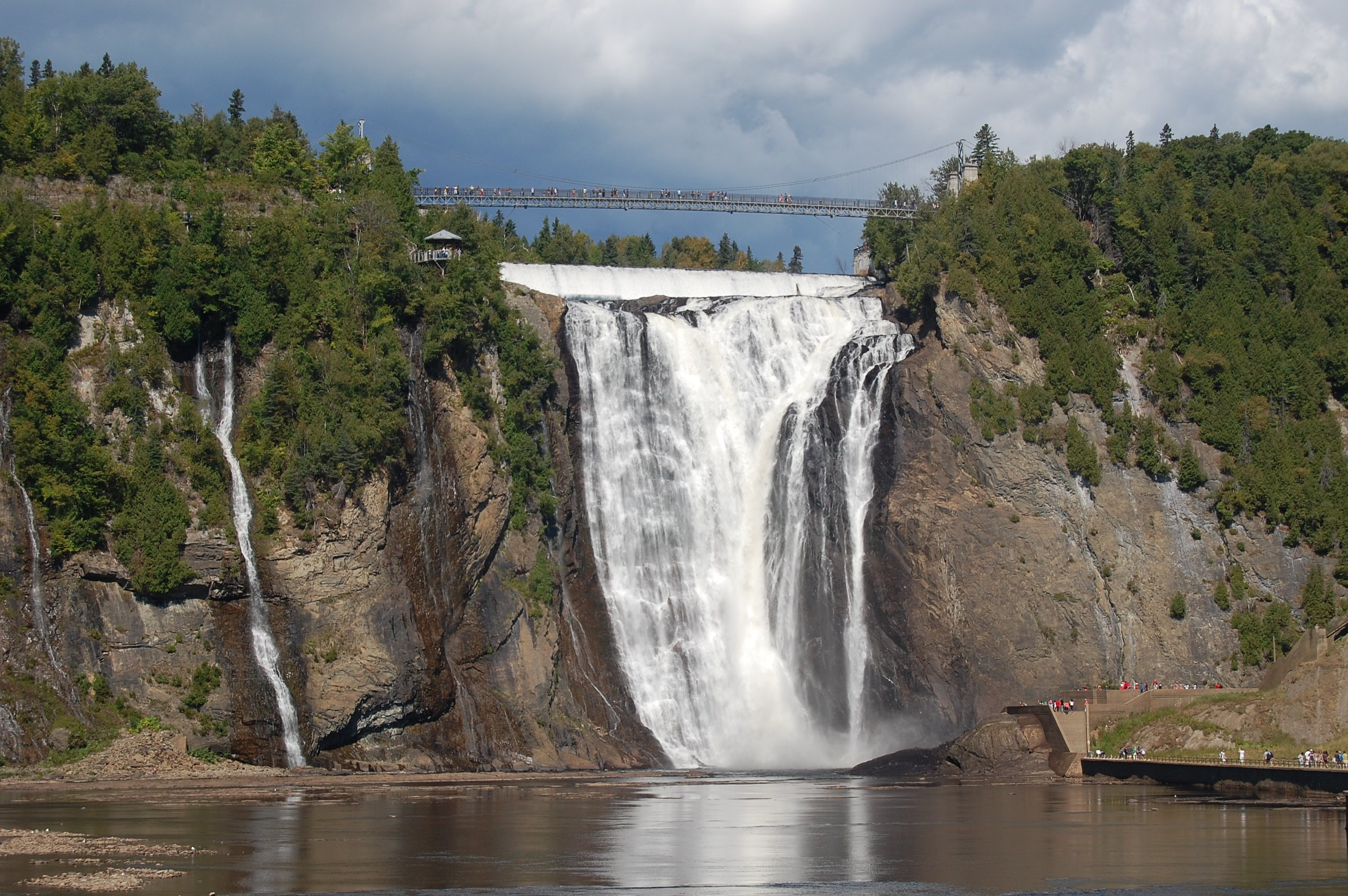 Montmorency Falls, Quebec City, Quebec