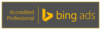 Steve Hill is a Bing Ads Accredited Professional