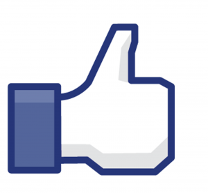 facebook like hand icon