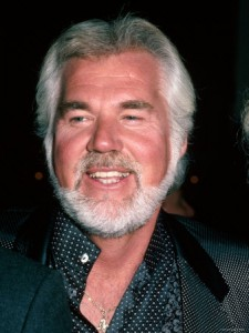 Kenny Rogers Portrait Drunk