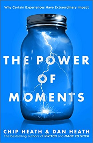 Chip & Dan Heath's new book The Power of Moments cover